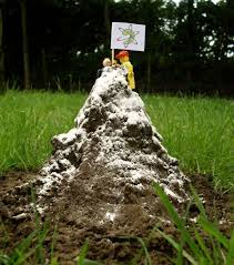 The molehill isn't the one that needs to be conquered.