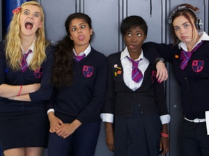 The main cast of Some Girls.