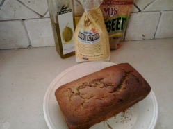 For example, this rice flour and flax meal based Berry Banana Bread. So good :)!